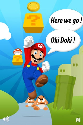 Illustration for article titled Super Mario Bros iPhone App Makes Your Life a Mario Level