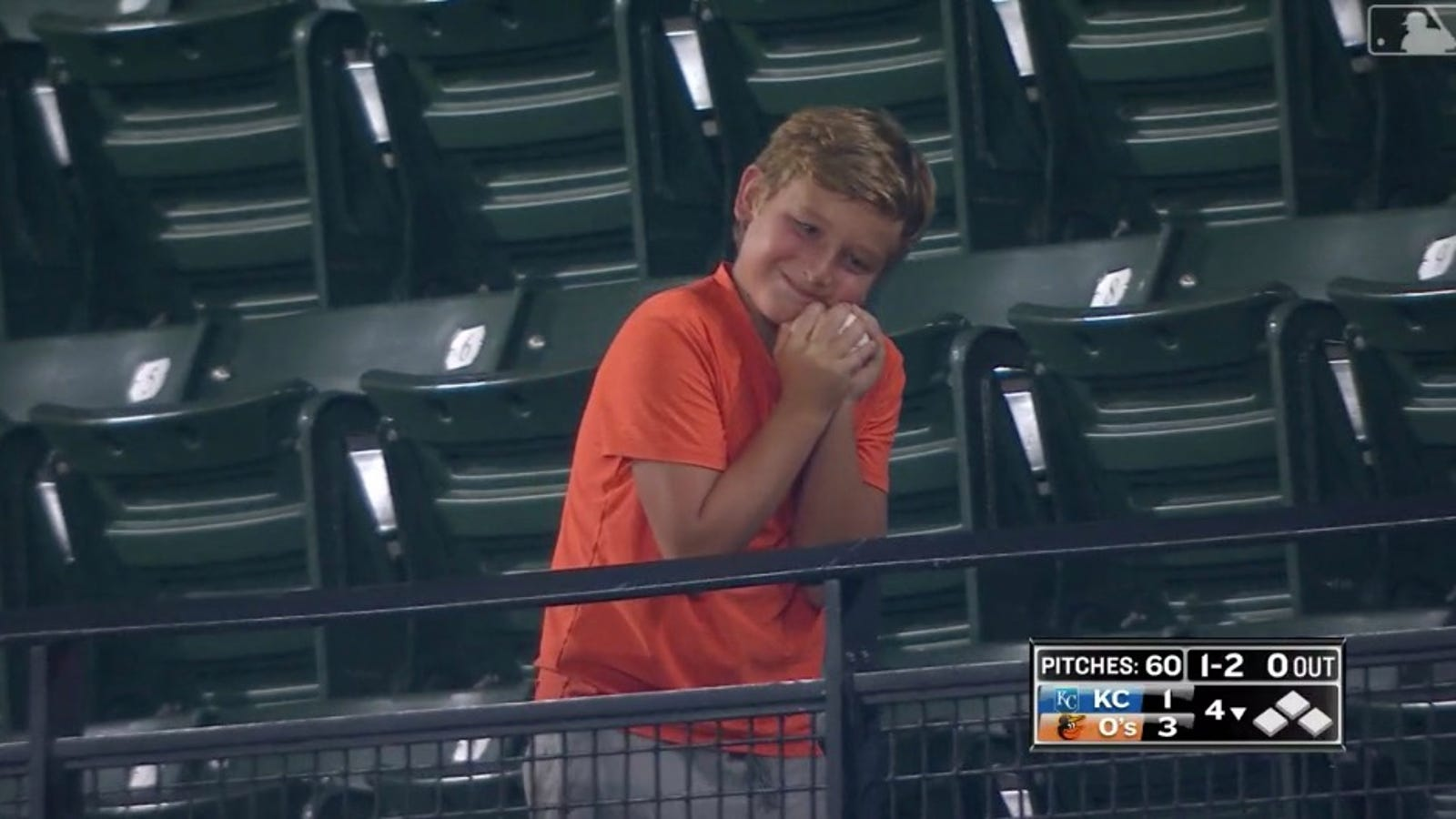 Foul Ball Immediately Becomes Child's Most Prized Possession
