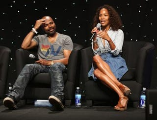 Director-producer Salim Akil and producer-writer Mara Brock Akil in 2013Chelsea Lauren/Getty Images