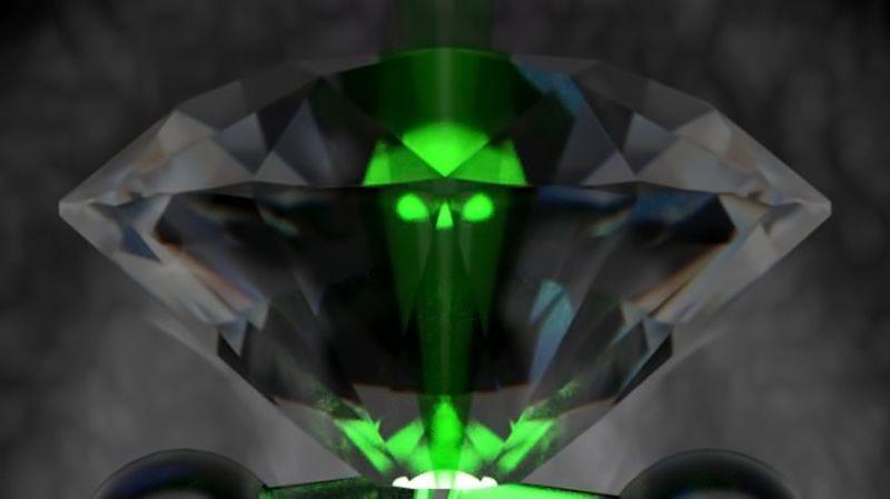 Illustration for article titled Crean una batería de diamante que convierte resíduos nucleares en electricidad y no contamina