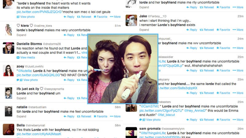 teens are having a racist meltdown over lordes ugly