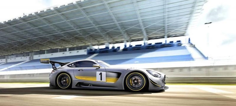 Illustration for article titled 2016 Mercedes-AMG GT3: This Is It