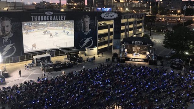 The NHL Threatened To Fine The Lightning If They Didn't Shut Down Their Watch Party