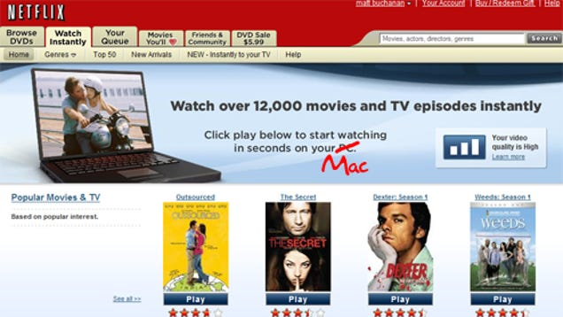 how to download on netflix mac