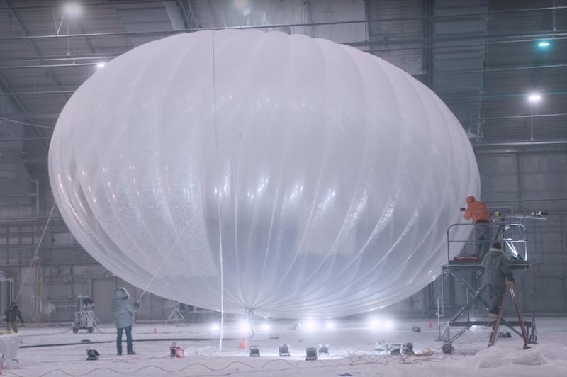 """Los globos de Project Loon reactivarán red celular de Puerto Rico"""""""