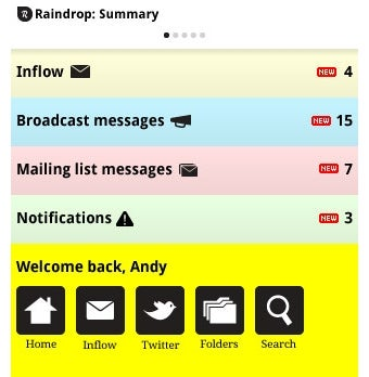 Illustration for article titled Raindrop's Universal Inbox Looks Awesome in Concept Designs