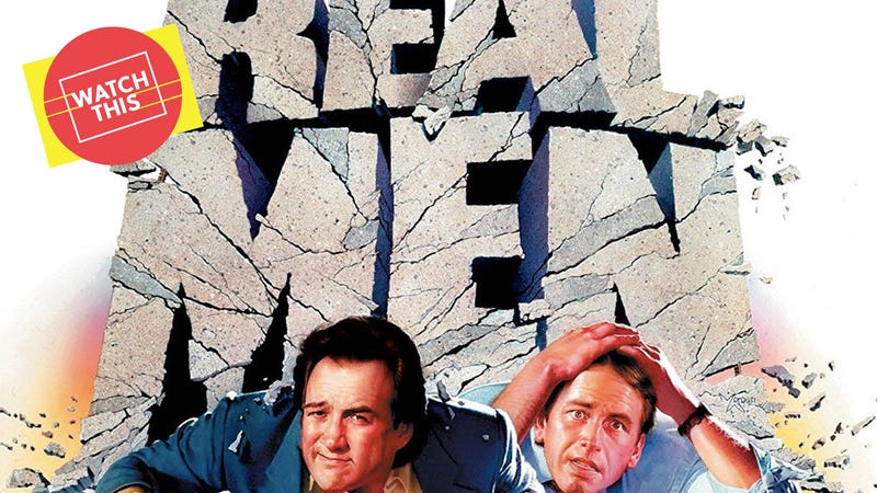 Illustration for article titled Real Men is one of the most underrated comedies of the '80s (but don't make a big thing out of it)