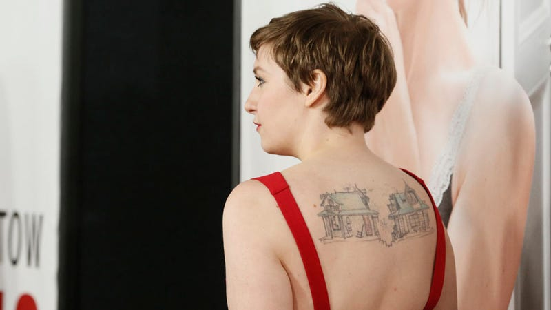 Illustration for article titled NY Post Critic Writes Nuanced Review of Lena Dunham's 'Blobby' Body