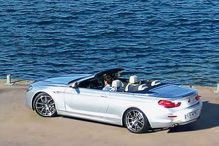 2012 BMW 6 Series Convertible: Beefy And Topless