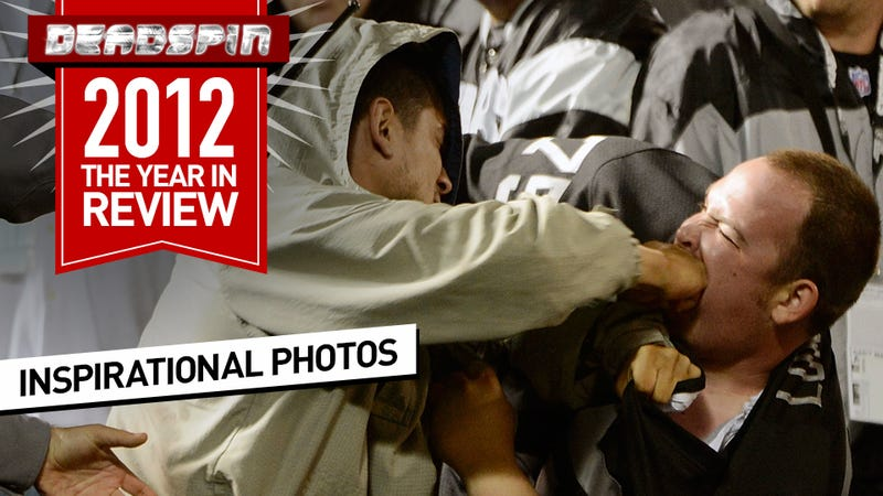 Illustration for article titled The Most Inspirational Sports Photos Of 2012