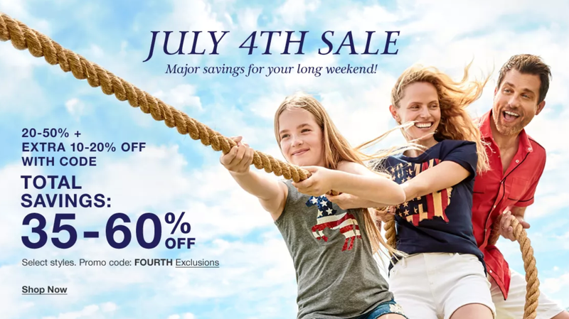 35-60% Off Select Styles + Free Shipping on $75 Orders | Macy's | Promo code FOURTH