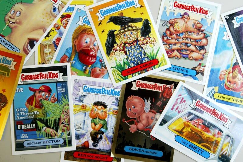 The Garbage Pail Kids as seen on a set of trading cards from 2004. (Photo: Chris Hondros/Getty Images)