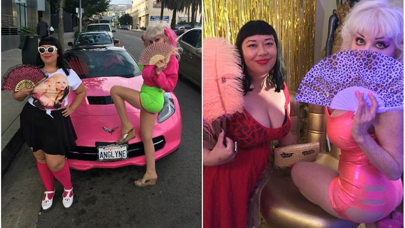 Illustration for article titled Driving Down Sunset With Angelyne, LA's Original 'Famous for Being Famous' Icon