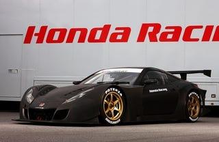 Illustration for article titled Honda HSV-010 GT