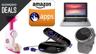 Illustration for article titled Free Android Apps, Amazon Student Deals, Moto 360 In Stock [Deals]