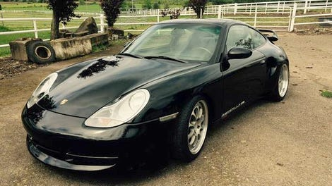 For $27,800, Could This Supercharged 2000 Porsche 911 Carrera Be A