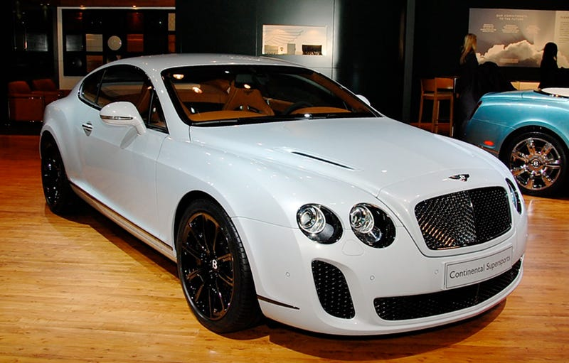Cost of bentley