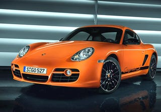 Illustration for article titled Porsche Reveals 303 HP Special Limited Edition 2009 Boxster, Cayman