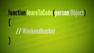 Illustration for article titled Learn How to Code this Weekend