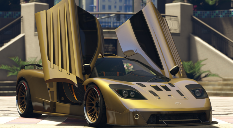 best car gta v 2018