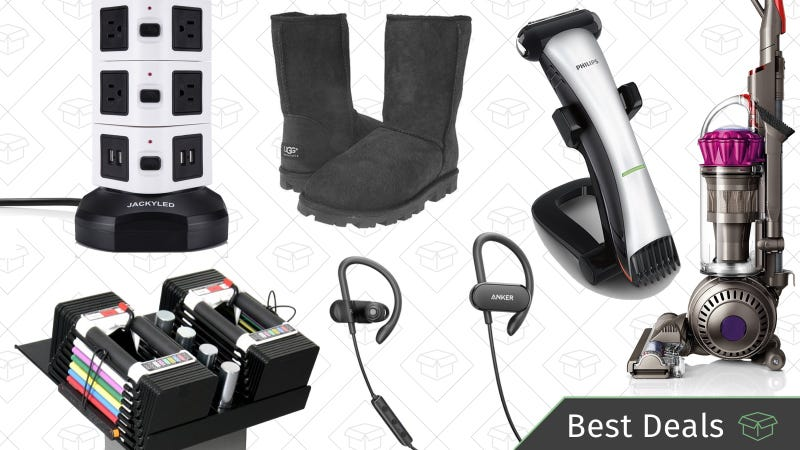 Illustration for article titled Wednesday's Best Deals: Dyson Animal, Anker SoundBuds, Ugg Boots, and More