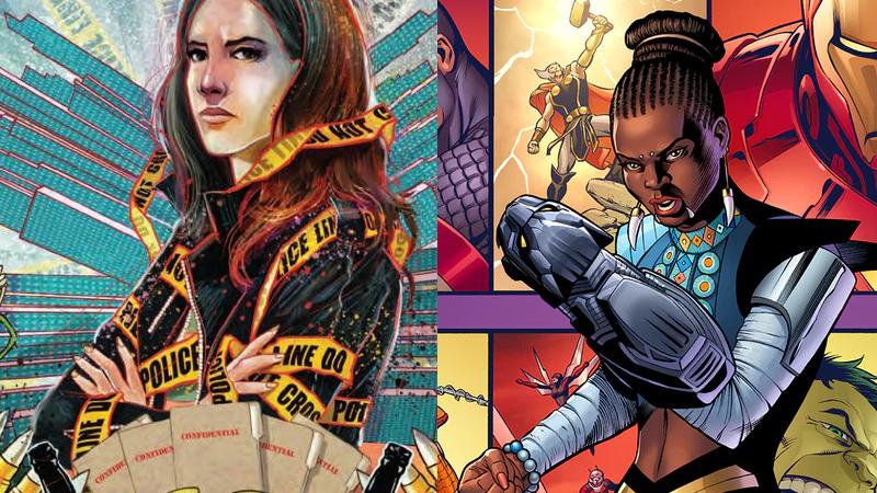 Jessica Jones and Shuri, coming to a comic book shelf near you!