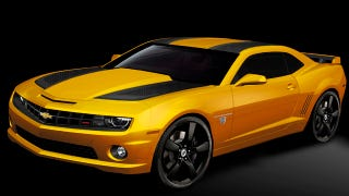 Illustration for article titled New Transformers Special Edition Camaro is not more than meets the eye