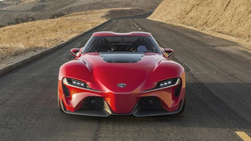 Illustration for article titled Did Toyota Confirm That The FT-1 Concept Is The New Supra?