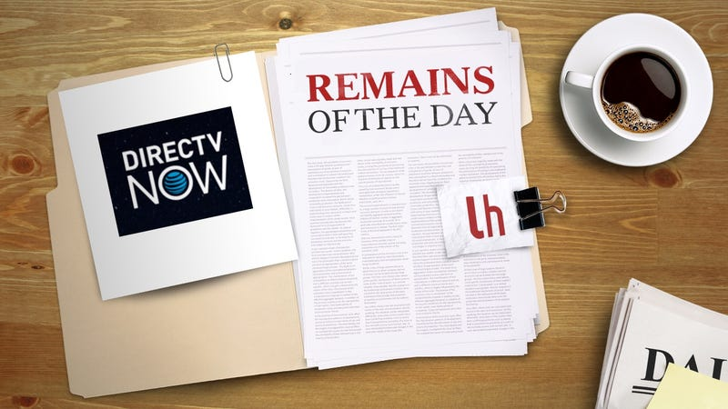 Illustration for article titled Remains of the Day: DirecTV Now to Launch on November 30th