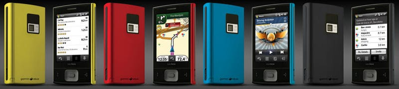 Illustration for article titled Garmin-Asus Nuvifone M20: A Surprisingly Cute WinMo 6.1 GPS Phone