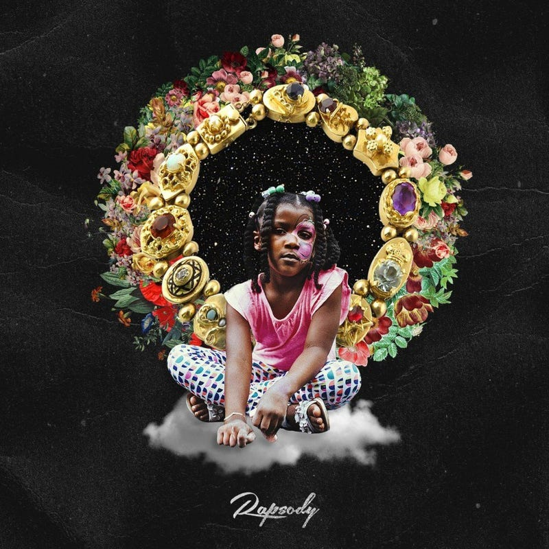 Cover of Rapsody's Laila's Wisdom album (It's a Wonder World Music Group/Roc Nation)