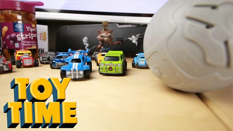 Rocket League's Tiny Toy Cars Are So Cute