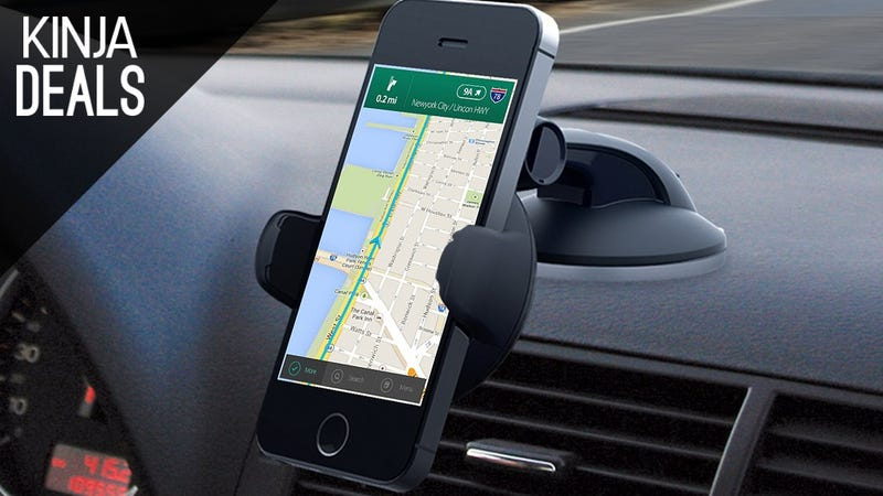 Illustration for article titled This Popular iOttie Car Mount is Cheaper Than Ever