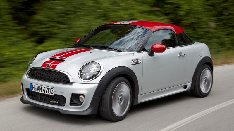 Ilration For Article Led The Mini Cooper Coupe Is Like Sup