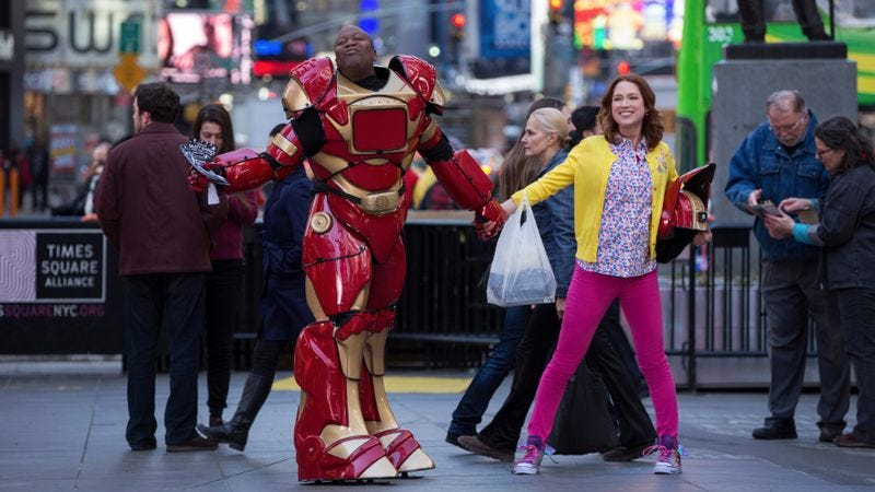 if you have been binge watching unbreakable kimmy schmidt since it hit netflix this past friday chances are youve had that theme song stuck in your head