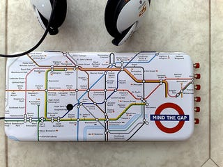 Illustration for article titled Home-Made Daisy MP3 Player Takes Us (London) Underground