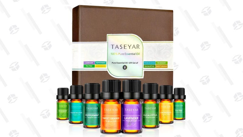 Essential Oils Set of 8 | $11 | Amazon | Clip the $1 coupon and use code DF9K9O9D