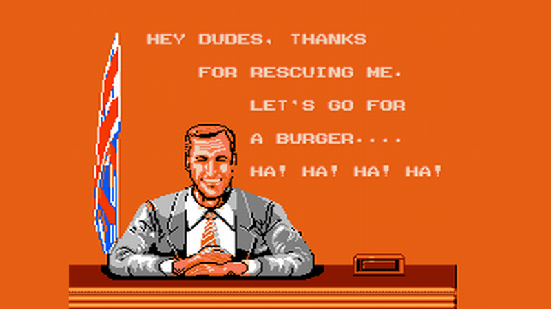 Illustration for article titled The Most Memorable Presidential Cameos In Video Games