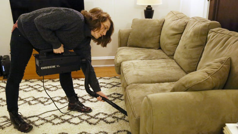 Delightful ... Surprised Local Woman Fran Copeland Confirmed Monday That Whoa, Her  Vacuum Cleaner Just Got Ahold Of Something Really Big Underneath The Couch.