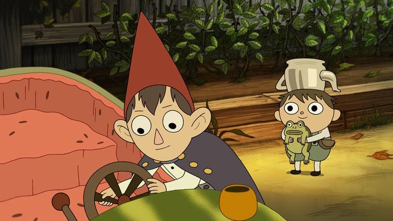 A scene from Over The Garden Wall