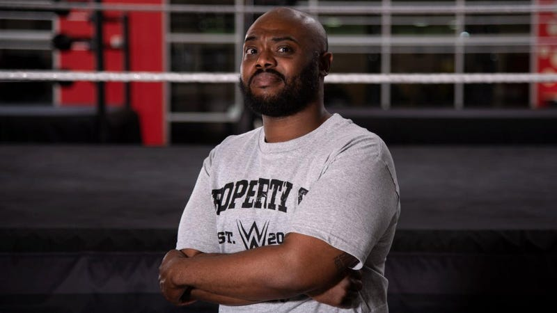 Stokely Hathaway pleasantly surprised the wrestling world last Monday with his arrival at the WWE Performance Center.