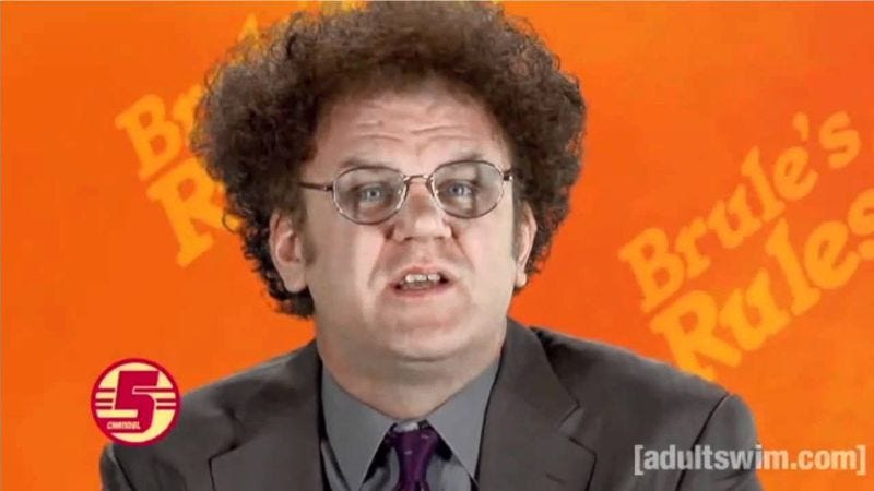 Illustration for article titled A pilot starring Dr. Steve Brule will air next month