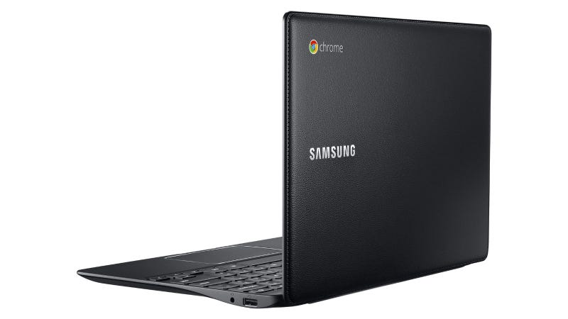 """Illustration for article titled El nuevo Chromebook de Samsung viene vestido de """"cuero"""""""