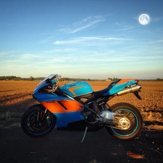 Illustration for article titled Gulf Livery Ducati 848