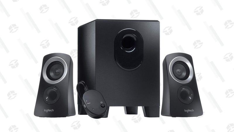 Logitech Z313 2.1 Speaker System | $25 | Amazon