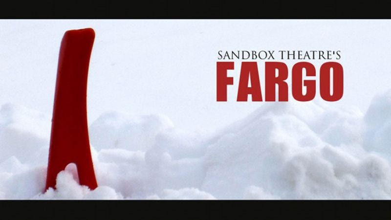 Illustration for article titled Matthew Glover on bringing Fargo's blood and snow to the stage