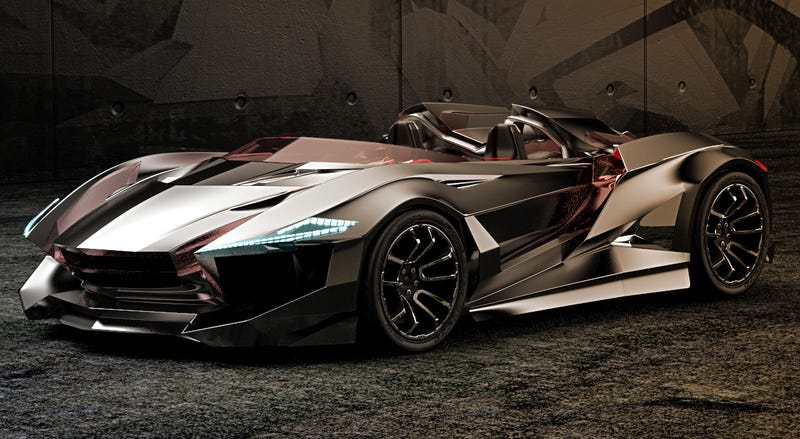 Illustration for article titled This awesome roadster should be the new Batmobile