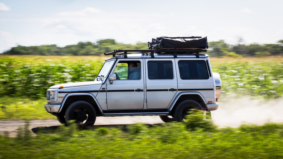 Using A Mercedes-Benz G-Wagen As A Camper Finally Gives It A