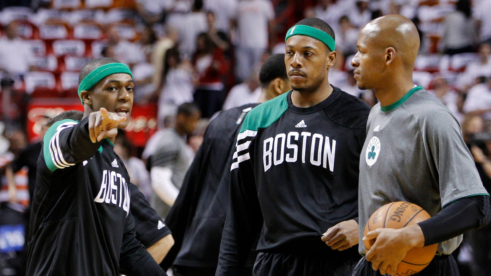 Ray Allen's Old Celtics Teammates, Who Are Extremely