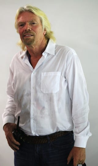 Illustration for article titled Richard Branson To Dress In Drag After Lost F1 Bet